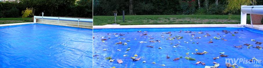 bache piscine pour volet roulant