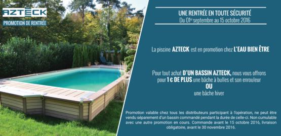 bache piscine promo