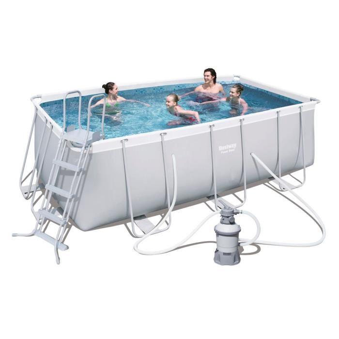 bache piscine rectangulaire bestway