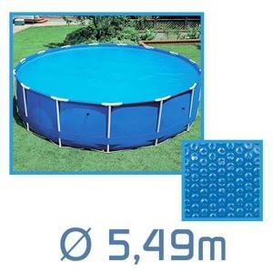 bache piscine ronde 5m50