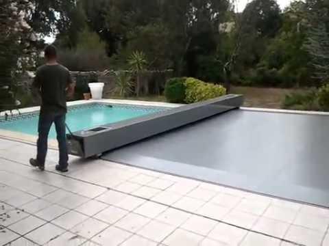 bache piscine securite electrique