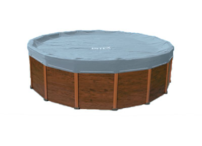 bache piscine sequoia intex
