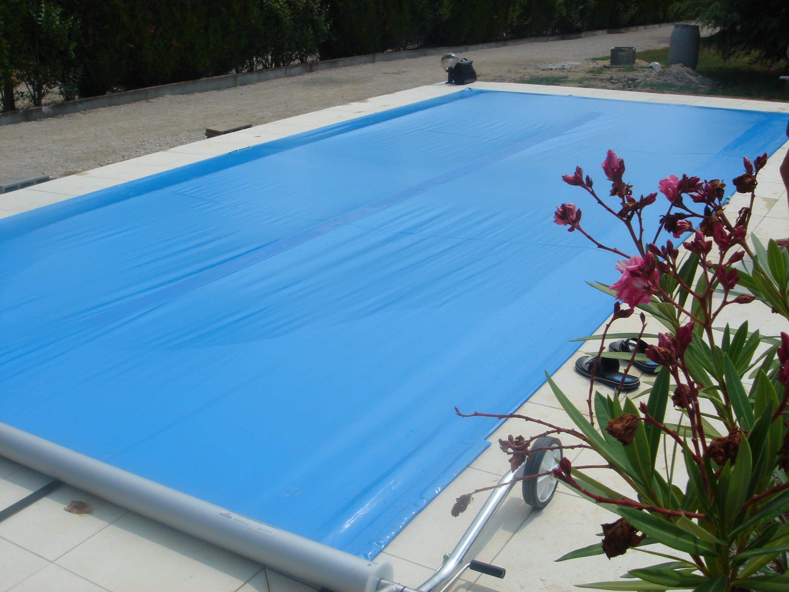 bache piscine sur mesure