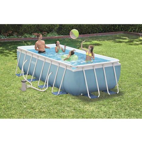 bache piscine tubulaire 4x2