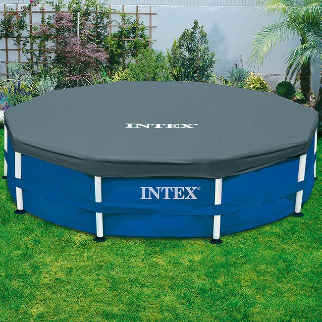bache piscine tubulaire intex