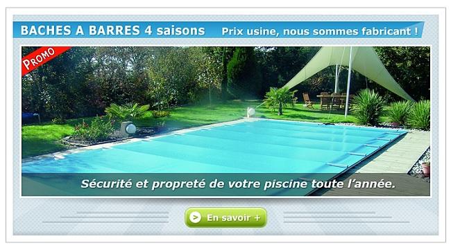 bache piscine usine