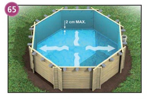 bache piscine weva basic
