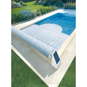 volet piscine chauffant