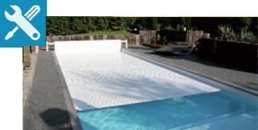 volet piscine class