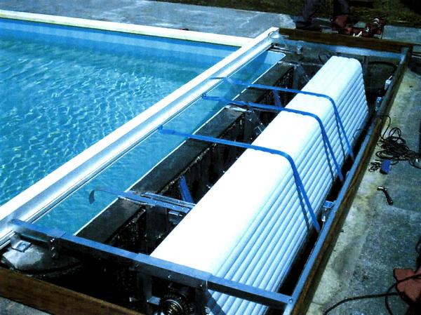 volet piscine coffre sec