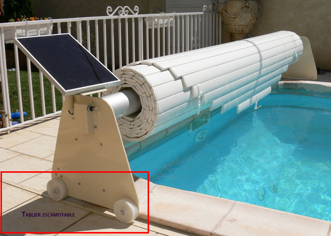 volet piscine escamotable