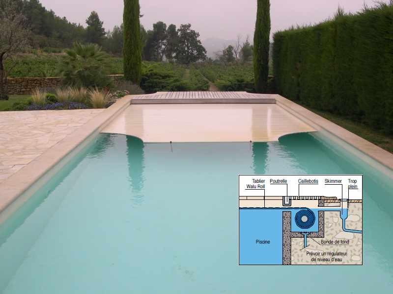 volet piscine fosse seche