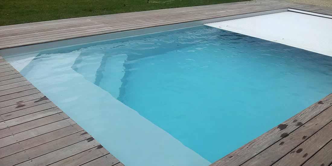 volet piscine gel