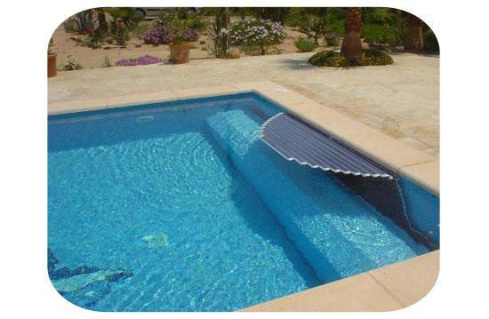 volet piscine hydraulique