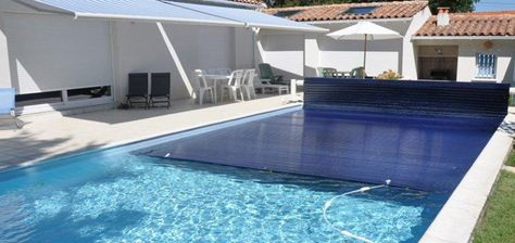 volet piscine immerge lames solaires