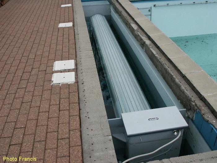 volet piscine immerge pas cher