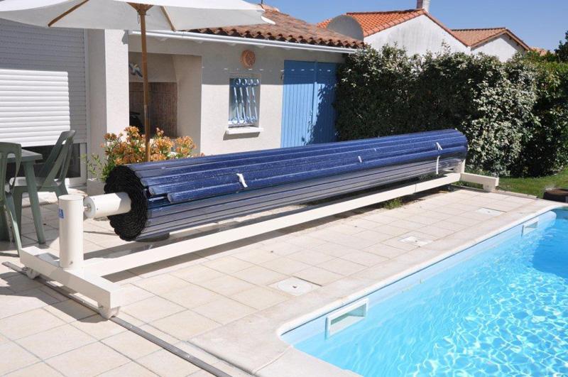 volet piscine lame chauffante