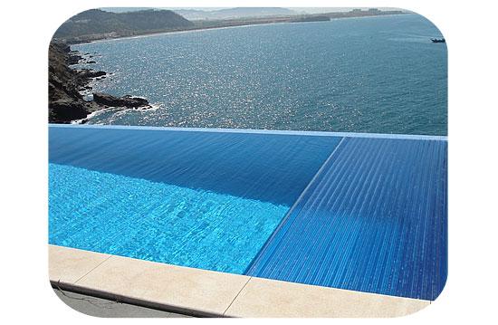 volet piscine lame polycarbonate