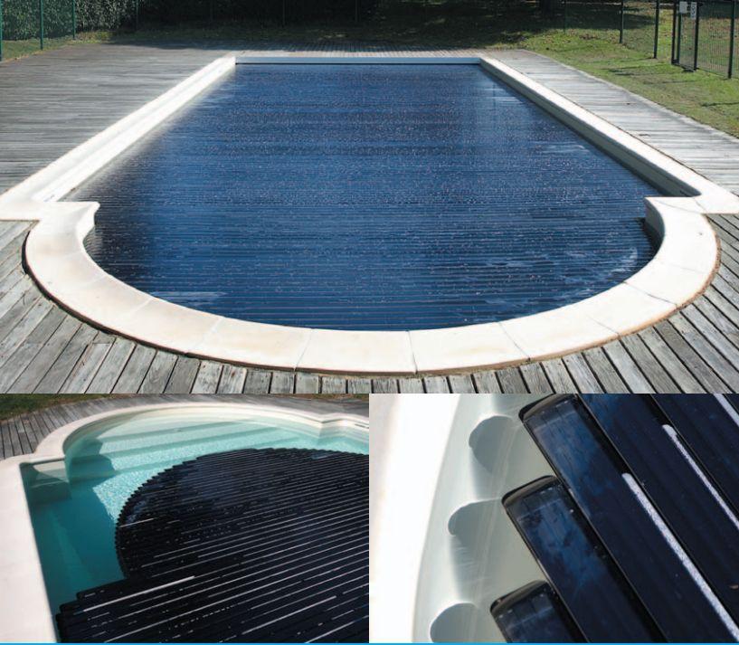 volet piscine lames solaires