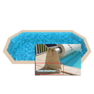 volet piscine octogonale