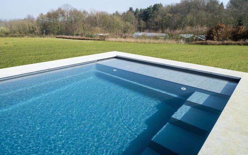 volet piscine plage immergee