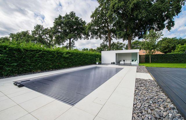 volet piscine solaire chauffant