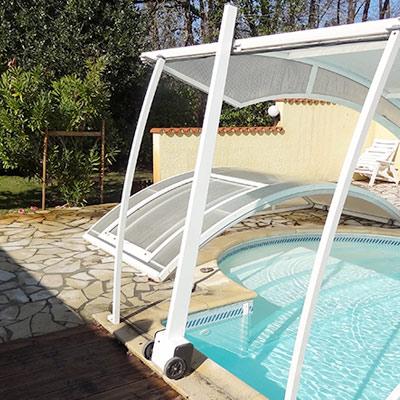 abri piscine 12x6