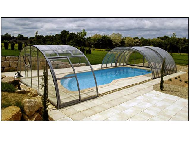abri piscine 9x4
