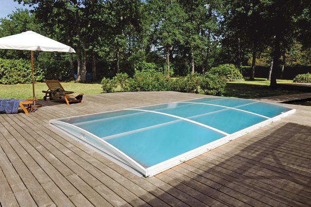 abri piscine bas 8x4
