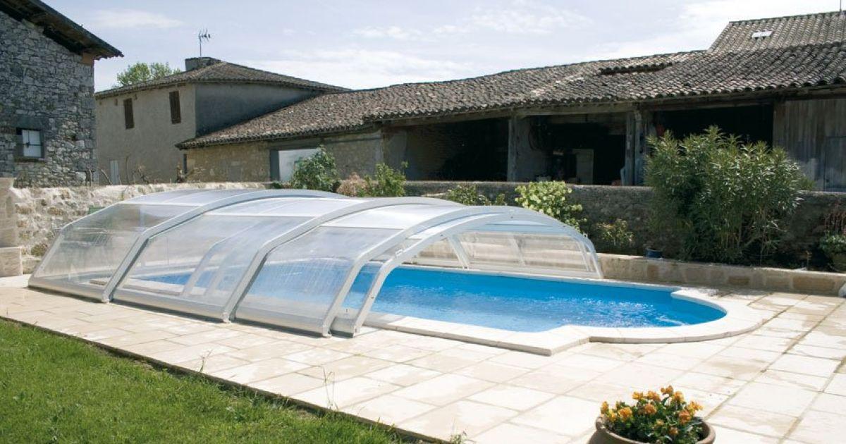 abri piscine creusee