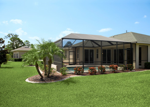 abri piscine design