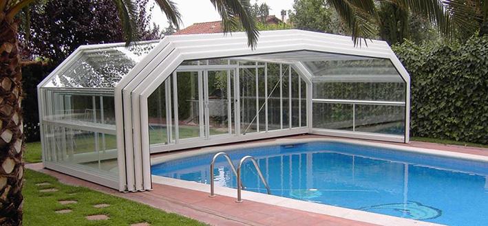 abri piscine dimension
