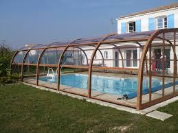 abri piscine en bois kit