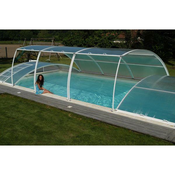 abri piscine en solde