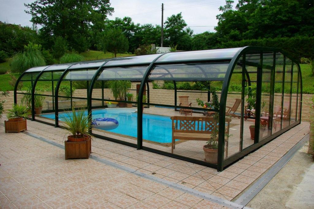 abri piscine fait maison