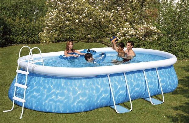 abri piscine gonflable carrefour