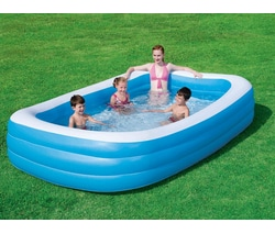 abri piscine gonflable carrefour
