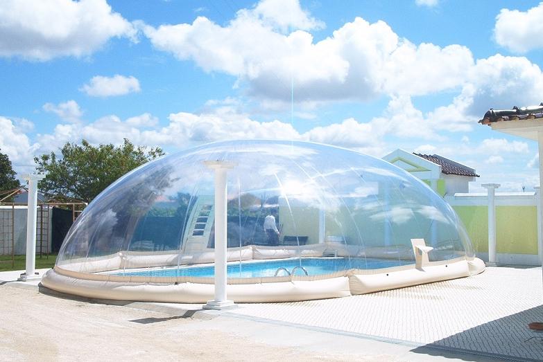 abri piscine intex
