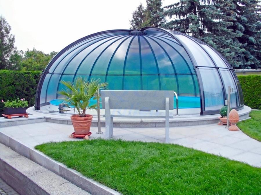 abri piscine opaque