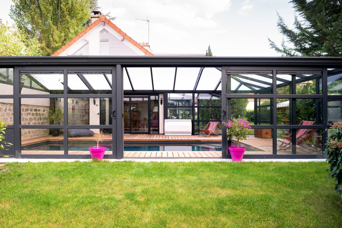 abri piscine ou veranda