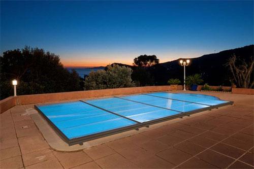abri piscine plat en kit