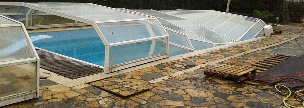 abri piscine reparation