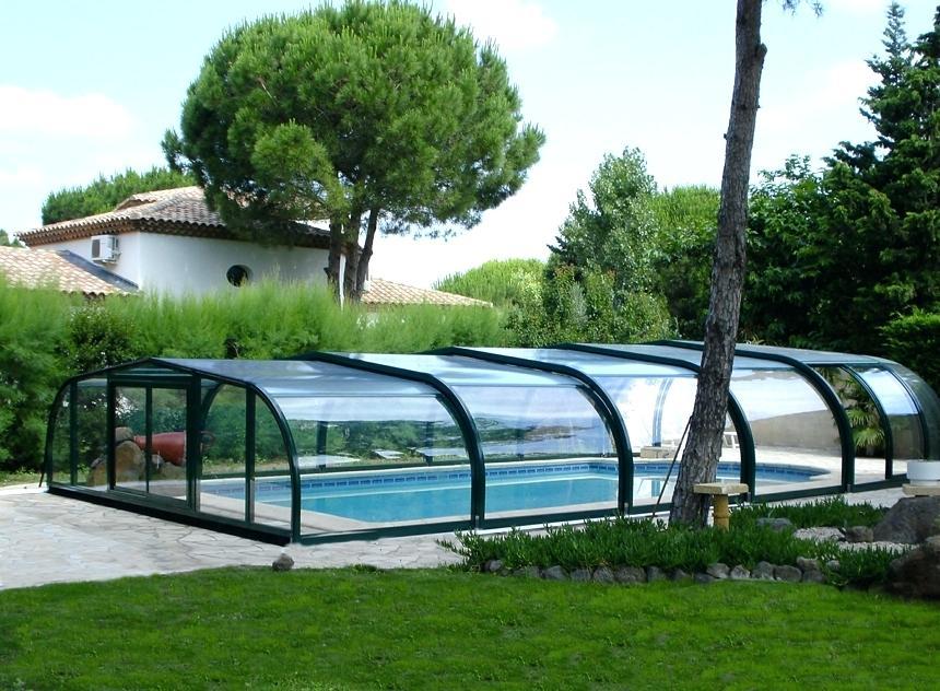 abri piscine repliable