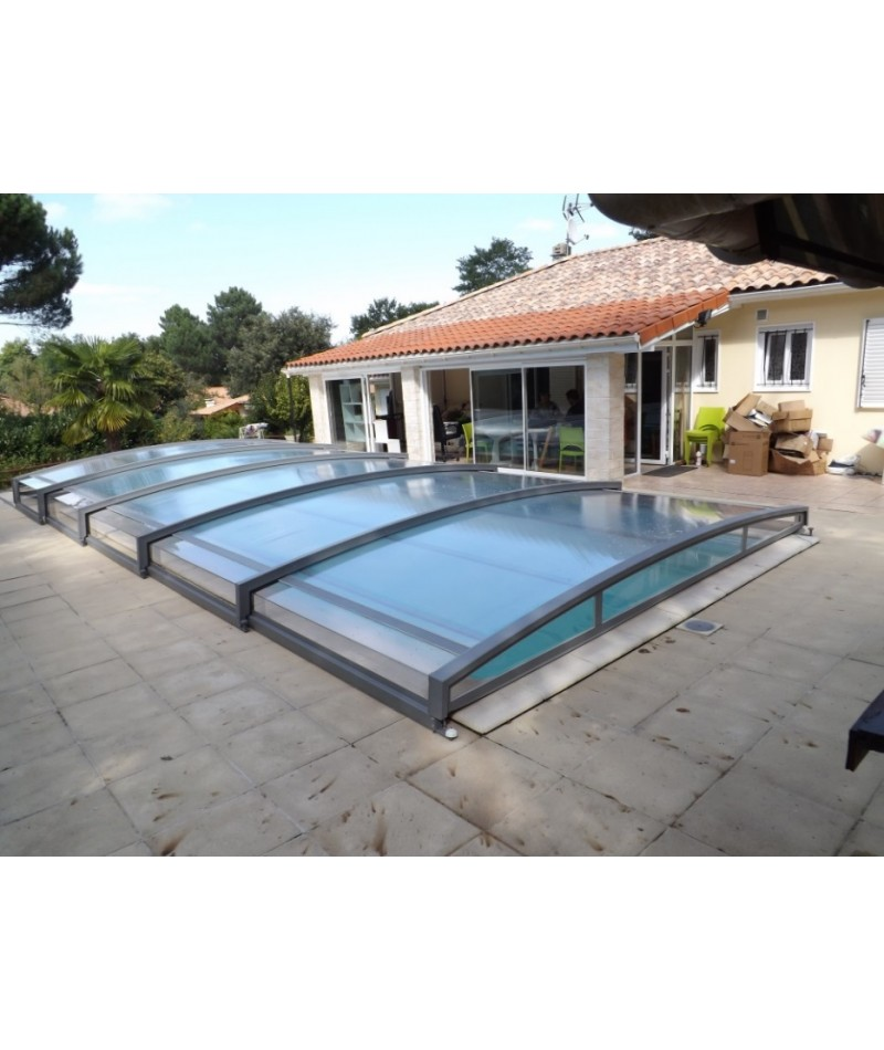 abri piscine sheltom