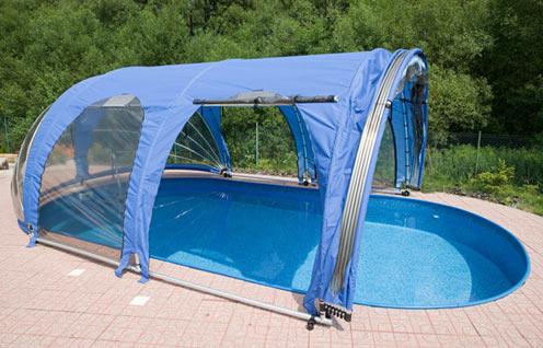 abri piscine solde