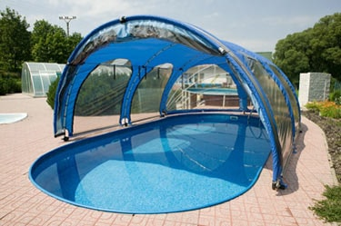 abri piscine souple