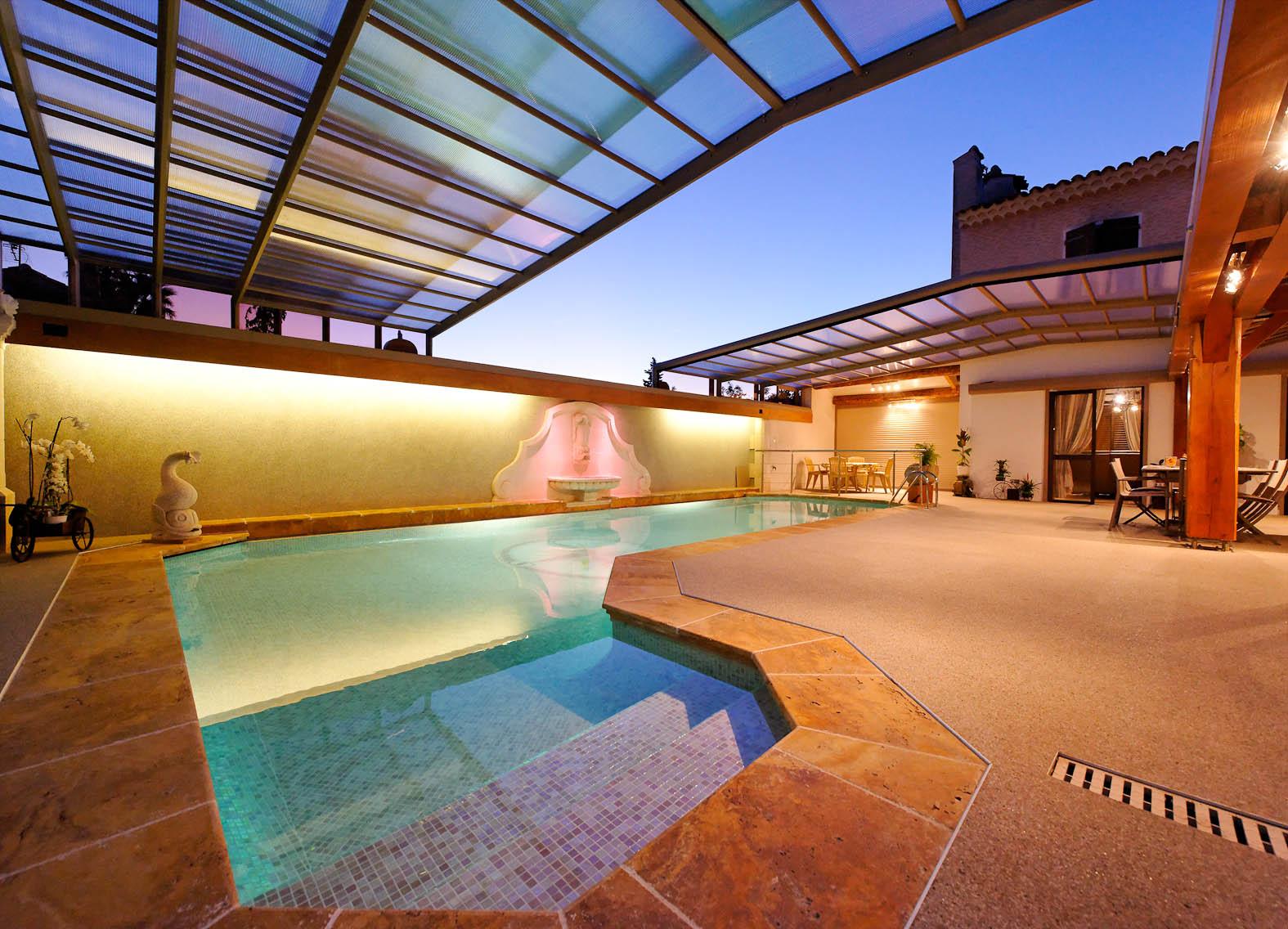 abri piscine sur mesure