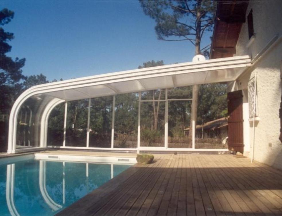 abri piscine surface de plancher