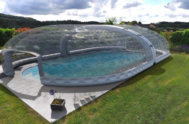 abri piscine tubulaire