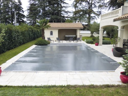 bache piscine 12×5